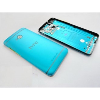 HTC One M7 Akkudeckel Hell Blau