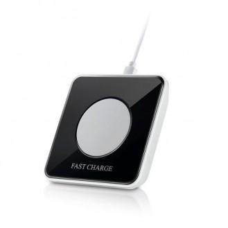 Nachtlicht LED Wireless Charger schwarz
