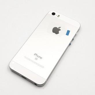 iPhone SE Backcover Middle Frame Silber
