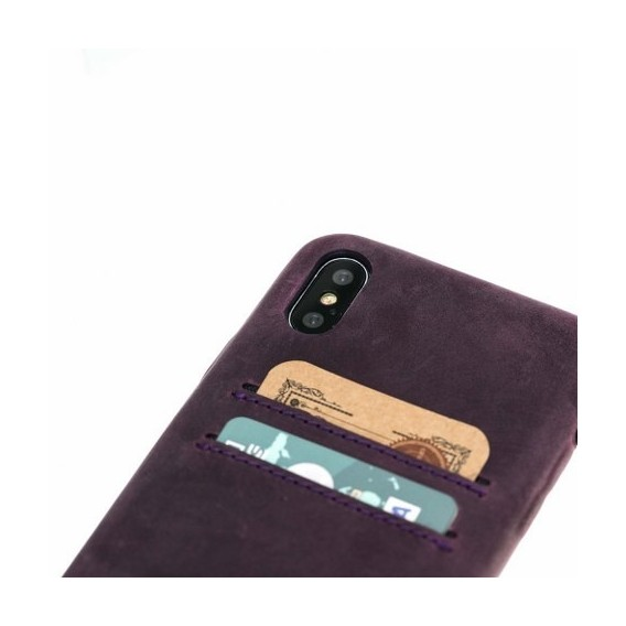 iPhone X Bouletta Ultra Cover CC Lila