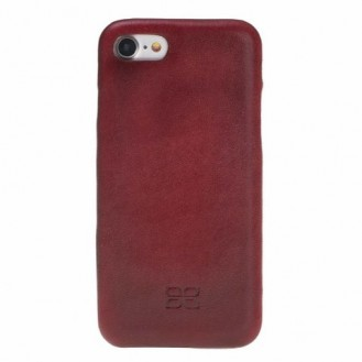 iPhone 7/8 Bouletta Leder Ultra Cover Weinrot