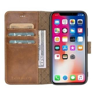 More about Bouletta Echt Leder Iphone XR Book Wallet Braun