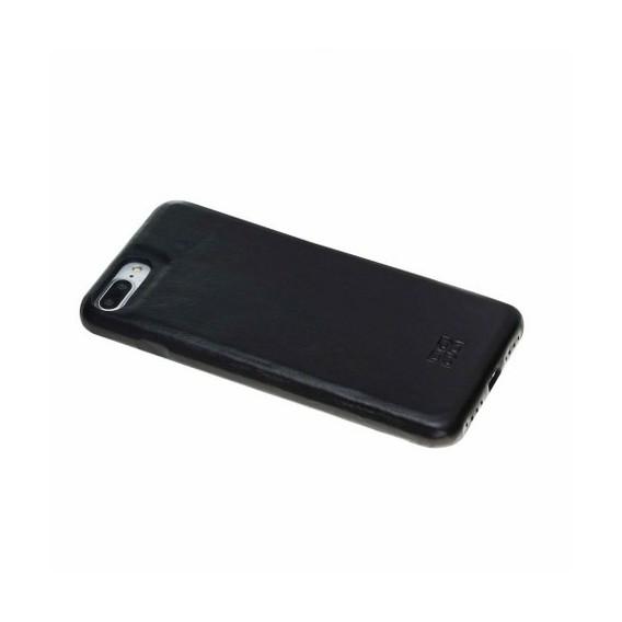 iPhone 7/8 Plus Bouletta Echt Leder Ultra Cover Schwarz