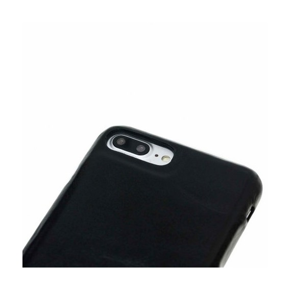 iPhone 7/8 Plus Bouletta Echt Leder Ultra Cover Schwarz