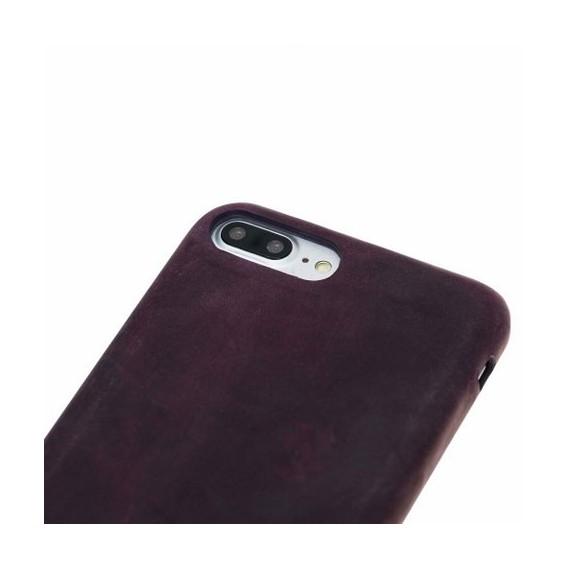 iPhone 7/8 Plus Bouletta Echt Leder Ultra Cover Lila