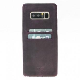 Samsung Note 8 Bouletta Echt Leder Ultra Cover CC Lila