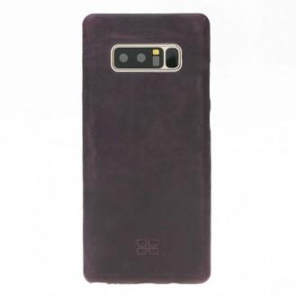 Samsung Note 8 Bouletta Echt Leder Ultra Cover Lila