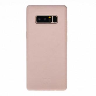 Samsung Note 8 Bouletta Echt Leder Ultra Cover Nude
