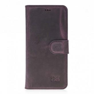 Samsung Galaxy S8 Bouletta Echt Leder Magic Wallet Lila