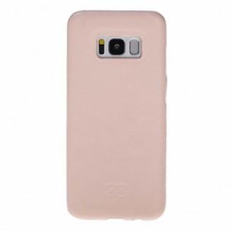 Samsung Galaxy S8 Bouletta Echt Leder Ultra Cover Nude