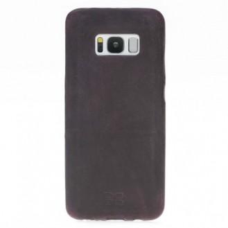 Samsung Galaxy S8 Plus Bouletta Echt Leder Ultra Cover Lila