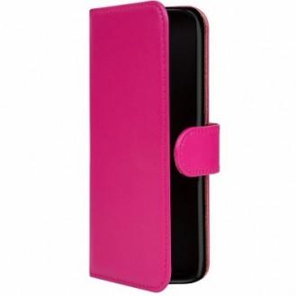Galaxy A9 Book Case Wallet Tasche Rot