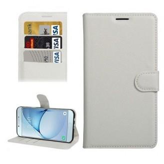 Galaxy A9 Book Case Wallet Tasche Weiss