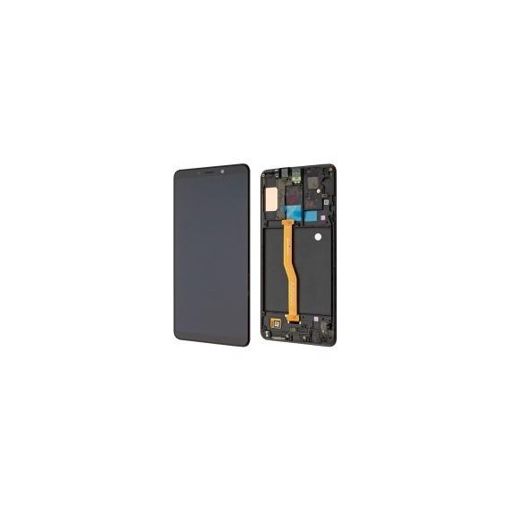 Samsung Galaxy A9 2018 A920F LCD + Touch Einheit Schwarz