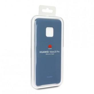 Huawei Mate 20 Pro Silikon Schutzhülle Blau