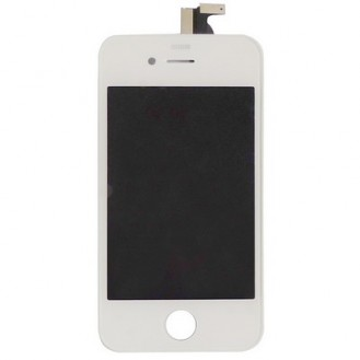 Weiss Display komplett iPhone 4S A1387, A1431
