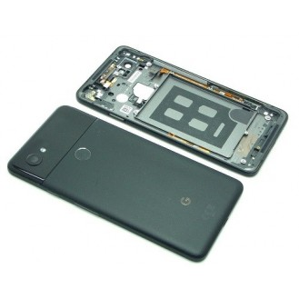 Google Pixel 2 XL Akkudeckel Schwarz