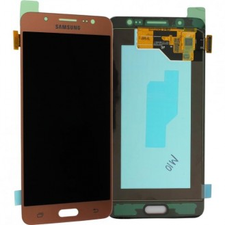 Samsung Galaxy J5 2016 LCD Touch Einheit Pink Gold