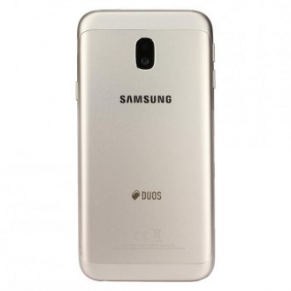 Samsung Galaxy J3 2017 Akkudeckel Gold