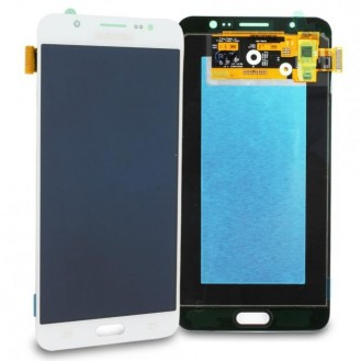 Samsung Galaxy J7 2016  LCD Display Weiss