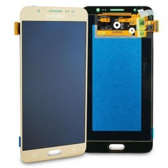 Samsung Galaxy J7 2016 LCD Display Gold