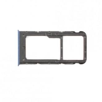 Sim Tray kompatibel mit Huawei P Smart, Blau