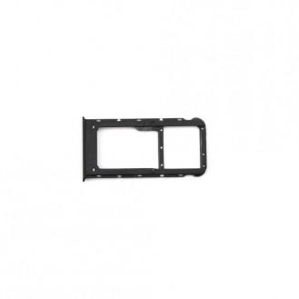 Sim Tray kompatibel mit Huawei P Smart, Schwarz