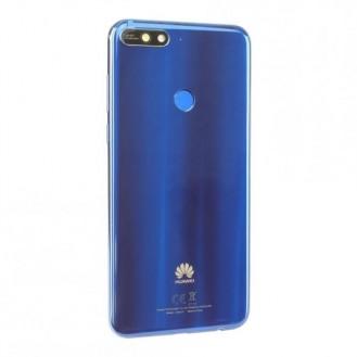 Huawei Y7 2018 Akkudeckel Blau