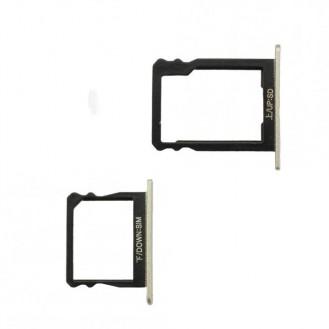 Huawei P8 Simkartan Halter Silber