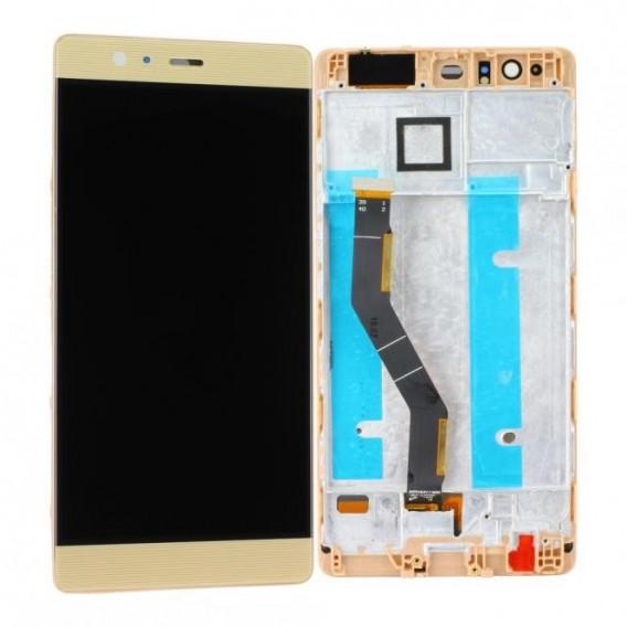 Huawei P9 Plus LCD mit Displayrahmen, Gold