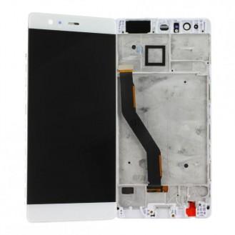 Huawei P9 Plus LCD mit Displayrahmen, Weiss