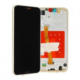 Huawei P20 lite LCD Einheit mit Displayrahmen Gold