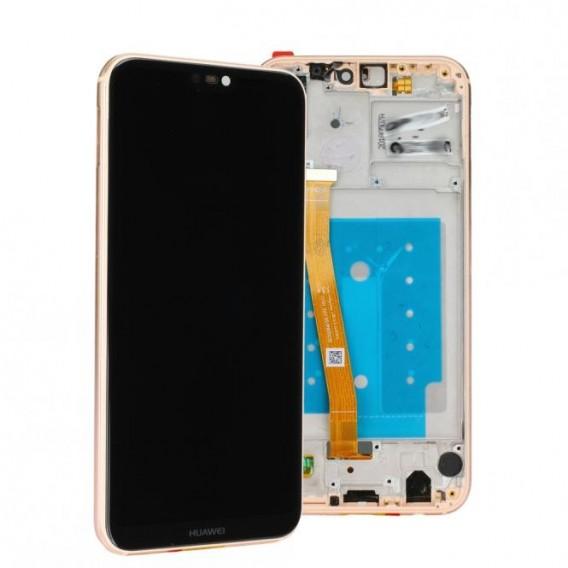 Huawei P20 lite LCD Einheit mit Displayrahmen Pink