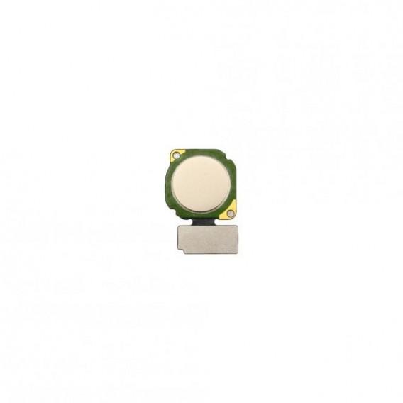 Fingerabdrucksensor Flex Gold kompatibel mit Huawei P20 Lite
