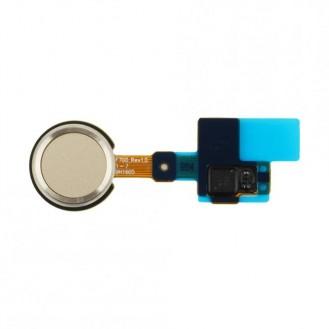 Home Button mit Flexkabel Gold kompatibel mit LG G5