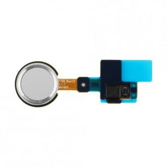Home Button mit Flexkabel Silber kompatibel mit LG G5