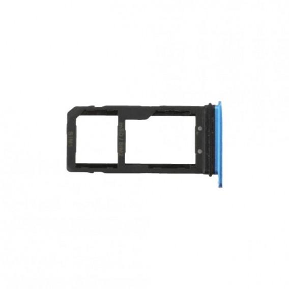 Sim + SD Tray Blau kompatibel mit HTC U11