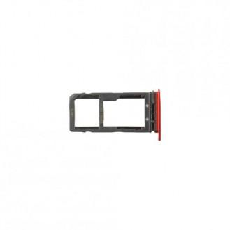 Sim + SD Tray Rot kompatibel mit HTC U11