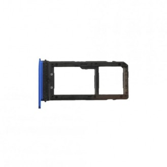 Sim + SD Tray Saphir Blau kompatibel mit HTC U11