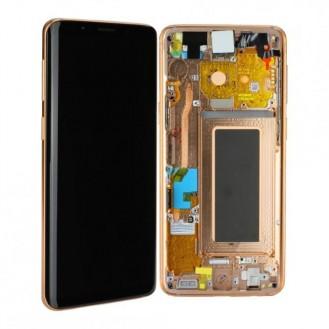Samsung Galaxy S9 Komplett LCD + Frontcover, Gold