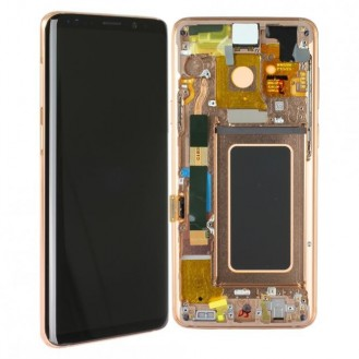 Samsung Galaxy S9 Plus Komplett LCD + Frontcover, Sunrise Gold