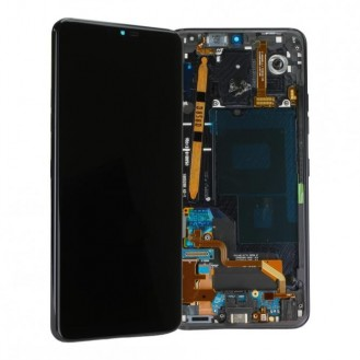 LG G7 ThinQ G710 Komplett LCD+Frontcover Schwarz