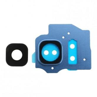 Samsung Galaxy S8 Plus  Kamerafenste Gehäuse Blau