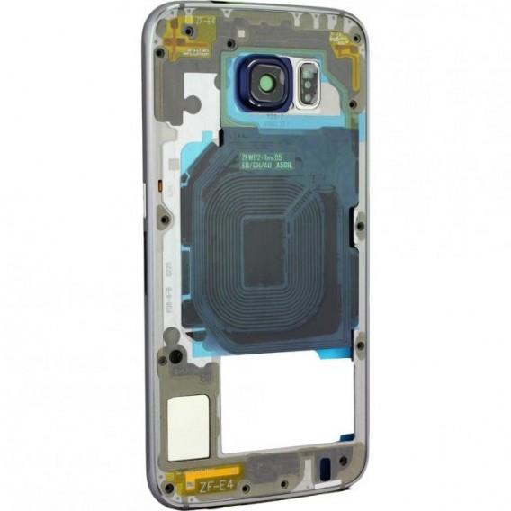 Samsung Galaxy S6 Mittelrahmen Schwarz