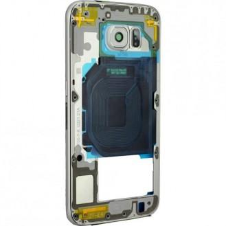 Samsung Galaxy S6 Mittelrahmen Weiss
