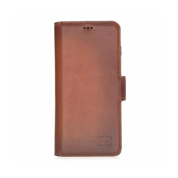 Bouletta Geldbörse Lederhülle mit ID-Slot für Samsung S10 Plus
