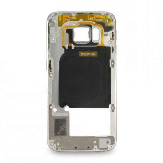 Samsung Galaxy S6 Edge Mittelrahmen, Silber