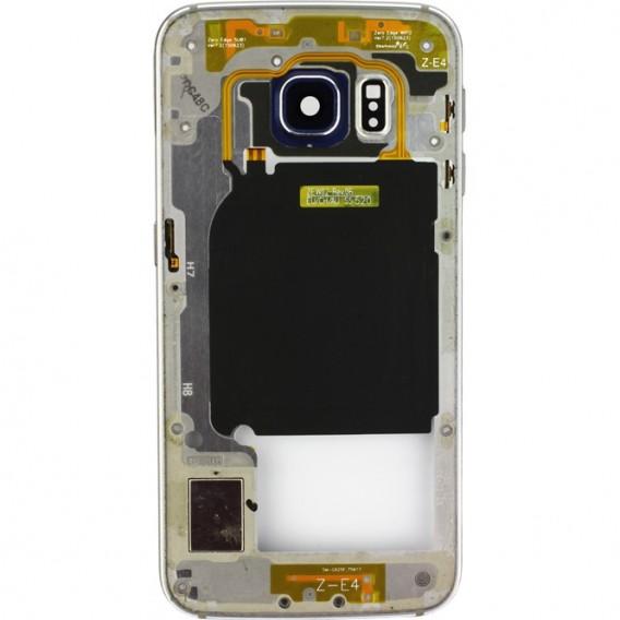 Samsung Galaxy S6 Edge Mittelrahmen, Schwarz