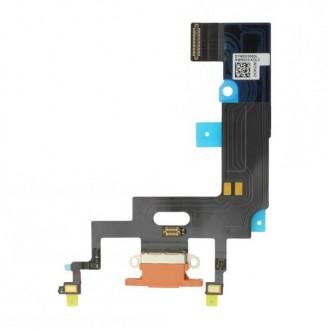 iPhone XR Dock Connector Flexkabel Koralle