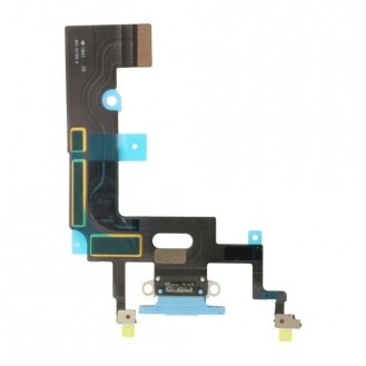 iPhone XR Dock Connector Flexkabel Blau